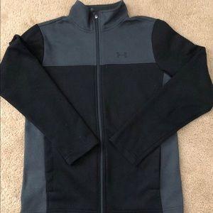 Under Armour boys zippered jacket size L